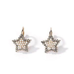 New fashion star five-pointed star earrings